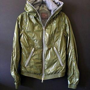 Nylon Windbreaker Hooded Jacket